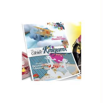 Cahier de kirigami n°22 - spécial anniversaire