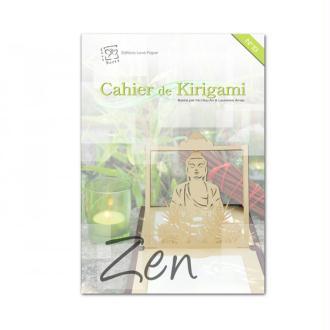 Cahier de kirigami n°13 - zen