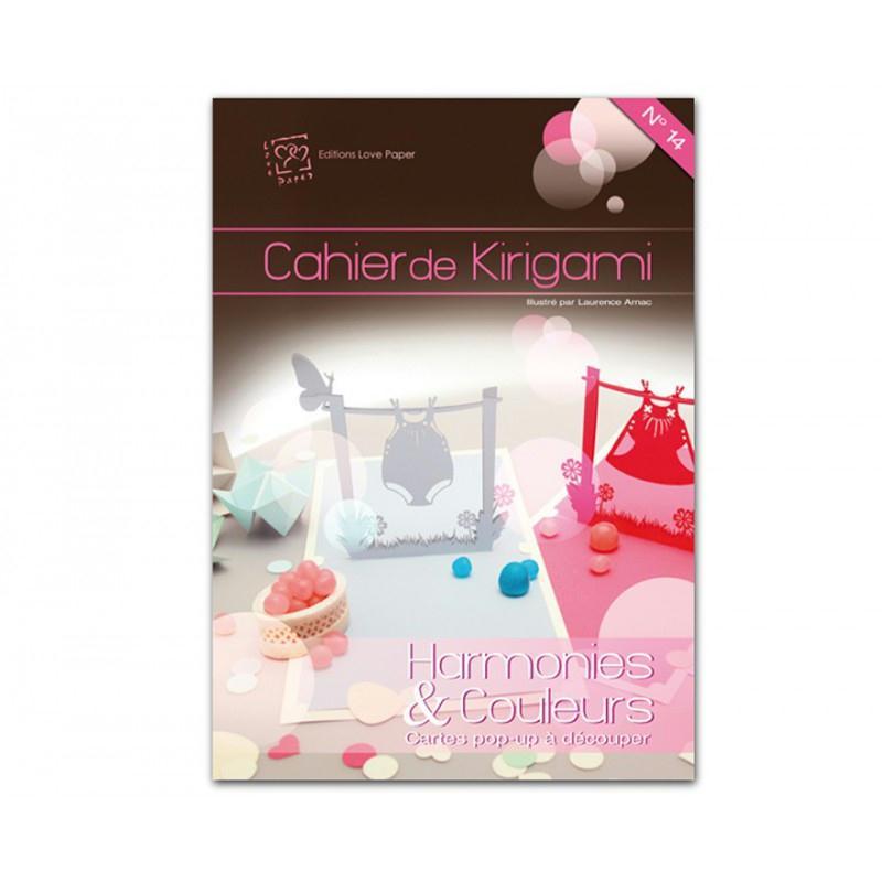 Cahier de kirigami n°14 - harmonie - Photo n°1