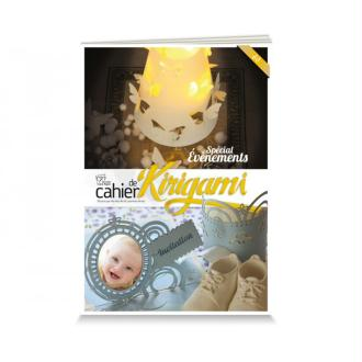 Cahier de kirigami n°17 - evènements