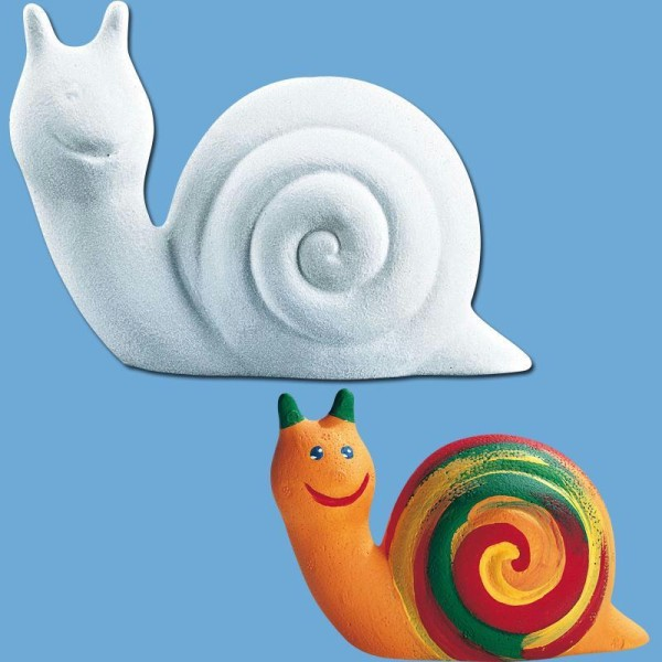 Escargot en polystyrène 15 cm - Photo n°1