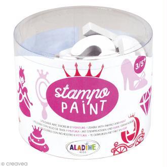 Kit de tampons Stampo Paint - Princesses - 12 pcs