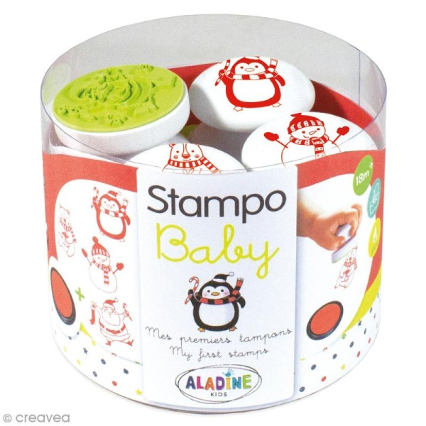 Tampons Stampo Baby - Noël - Photo n°1