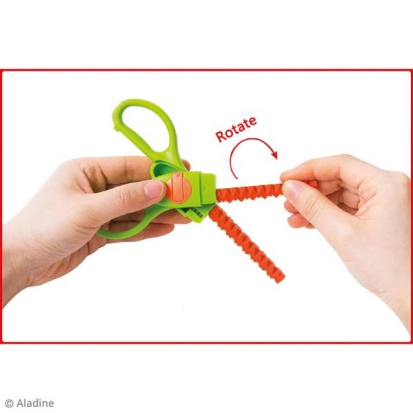 Ciseaux cranteurs Colors Cut - 9 découpes interchangeables - Photo n°5