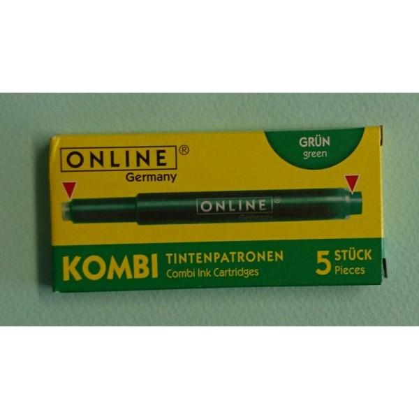 Cartouches vert Kombi ONLINE - Photo n°1