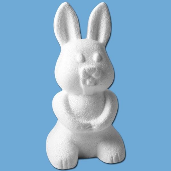 Lapin en polystyrène 23 cm - Photo n°1