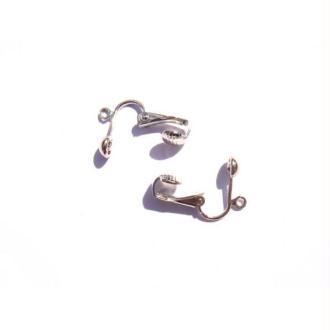 Paire de clips pour oreilles non percées 15 MM sans nickel plomb cadmium