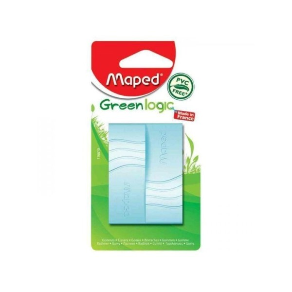 Blister de 2 gommes Greenlogic Maped - Photo n°1