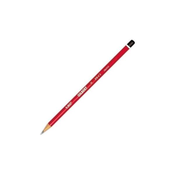 Crayon graphite rond HB Gilbert Bic - Photo n°1