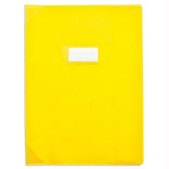 Protège-cahiers 24X32 jaune opaque CALLIGRAPHE