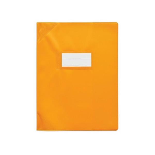 Protège-cahiers 24X32 orange opaque CALLIGRAPHE - Photo n°1
