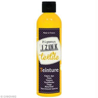 Teinture textile à froid Izink - Jaune camomille - 180 ml