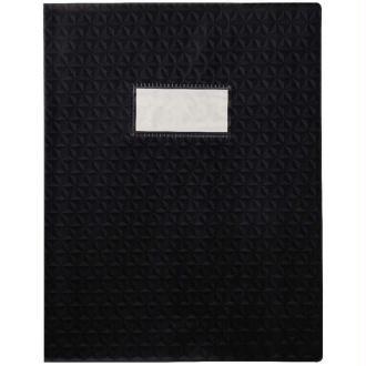 Protège-cahiers A4 noir opaque CALLIGRAPHE
