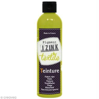 Teinture textile à froid Izink - Vert clair absinthe - 180 ml