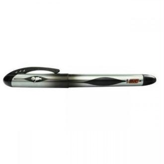 Stylo plume jetable noir pointe moyenne BIC