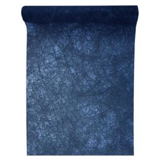 25 Mètres de fanon bleu marine Premium