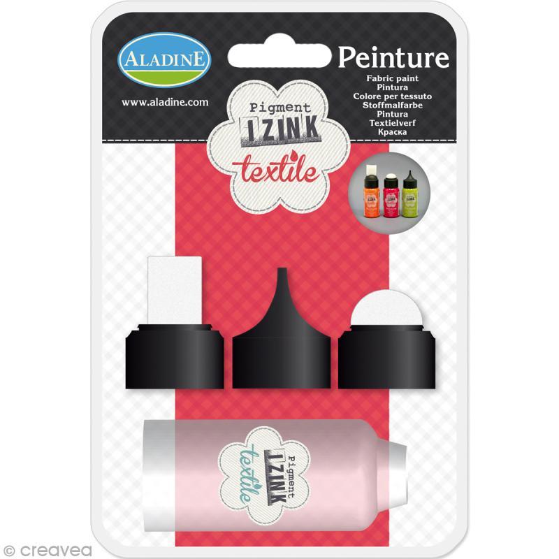 Kit d'outils pour peinture textile Izink - Photo n°1