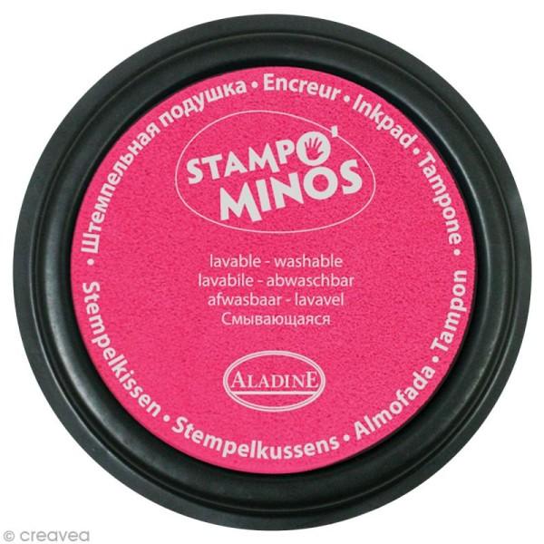 Encreur géant Stampo Colors Fluo x 4 - Encre ultra lavable - Photo n°2