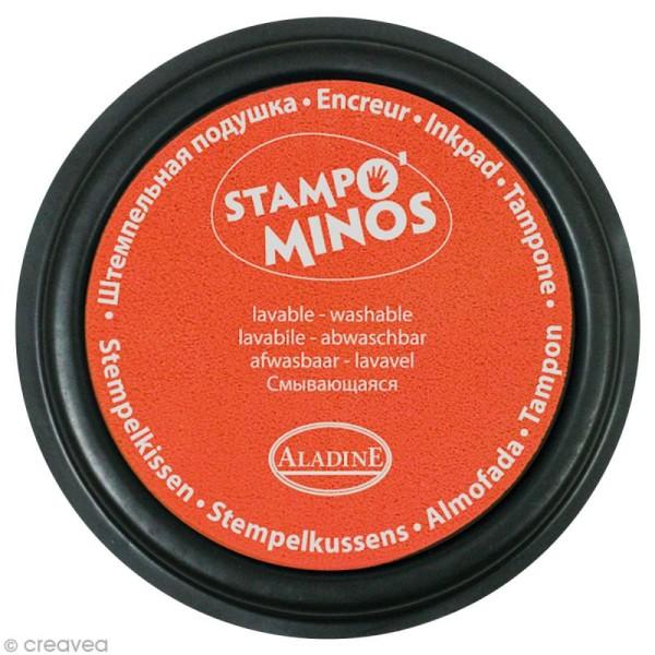 Encreur géant Stampo Colors Fluo x 4 - Encre ultra lavable - Photo n°4
