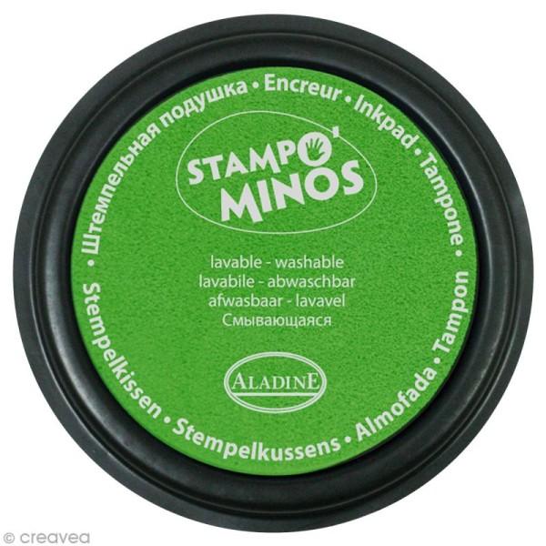 Encreur géant Stampo Colors Fluo x 4 - Encre ultra lavable - Photo n°5