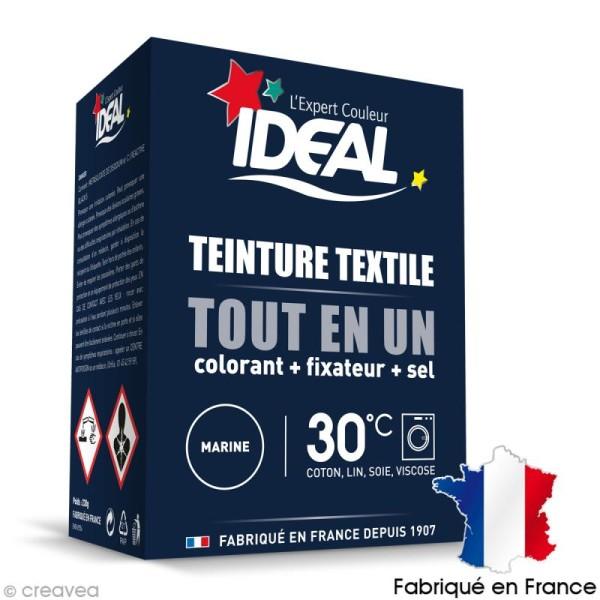 Kit complet teinture Ideal Tout en Un - Mini Bleu marine - 230 gr - Photo n°1