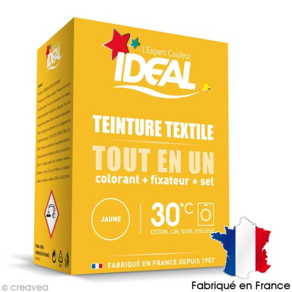 Kit complet teinture Ideal Tout en Un - Mini Jaune - 230 gr - Photo n°1