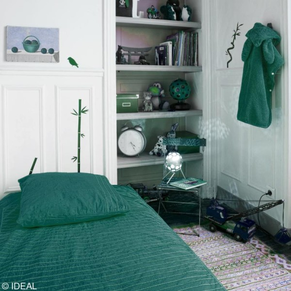 Kit complet teinture Ideal Tout en Un - Mini Vert émeraude - 230 gr - Photo n°2