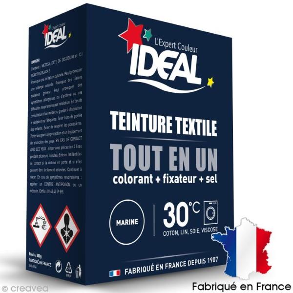 Kit complet teinture Ideal Tout en Un - Maxi Bleu marine - 350 gr - Photo n°1