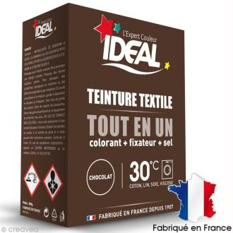 Kit complet teinture Ideal Tout en Un - Maxi Marron chocolat - 350 gr