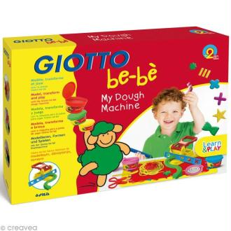 Kit Ma machine à pâte à modeler GIOTTO Bébé