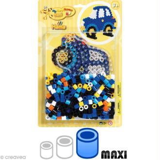 Kit Perles Hama Maxi diam. 1 cm - Voiture x 250