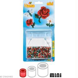 Kit Perles Hama mini diam. 2,5 mm - Fleur x 2000