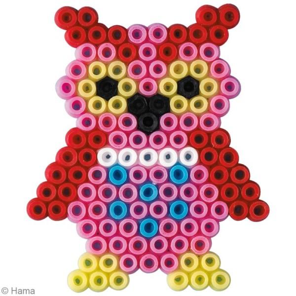Kit Perles Hama mini diam. 2,5 mm - Hiboux x 2000 - Photo n°3