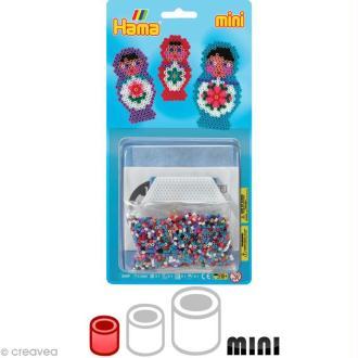 Kit Perles Hama mini diam. 2,5 mm - Poupée russe x 2000