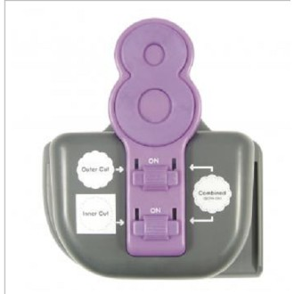 Perforatrice Lucky 8 Punch - Tatted Dolly - We R Memory Keepers