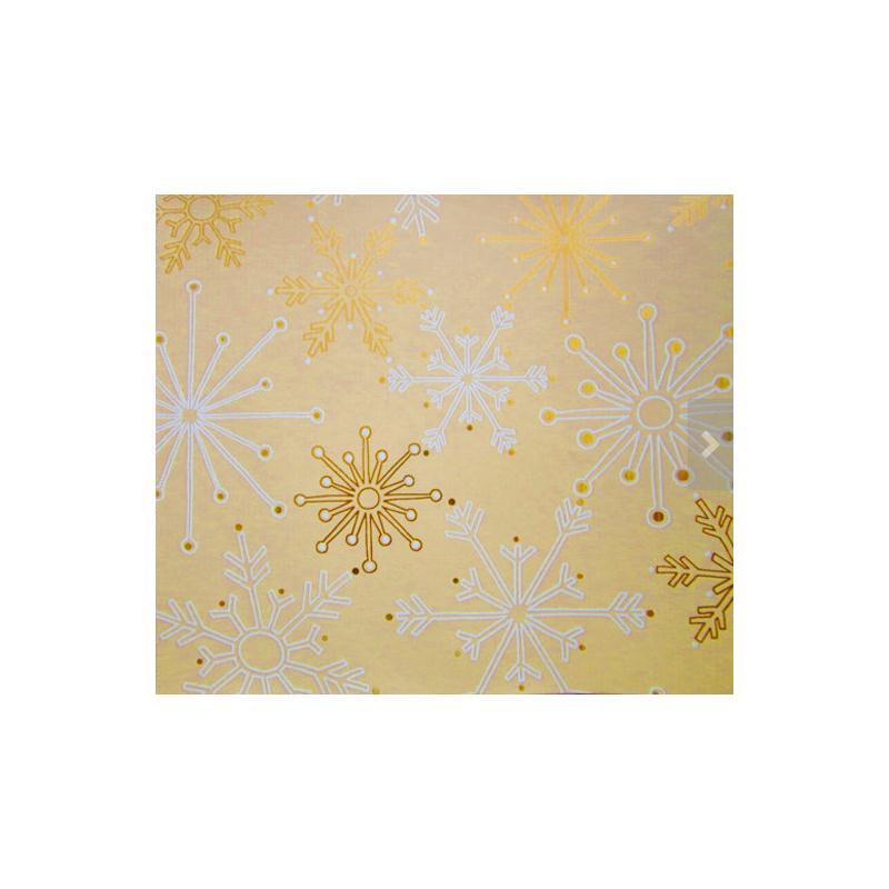 papier cadeau d coration no l lot de 5 rouleaux 5 motifs collection golden season. Black Bedroom Furniture Sets. Home Design Ideas