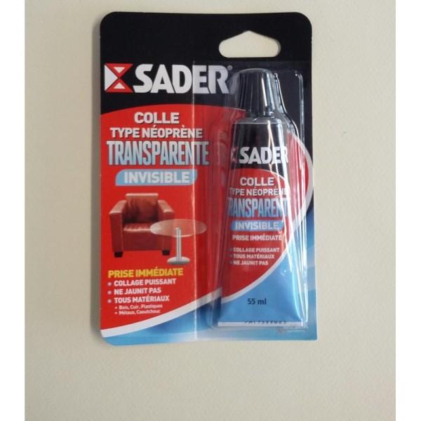 Colle transparente SADER - Photo n°1