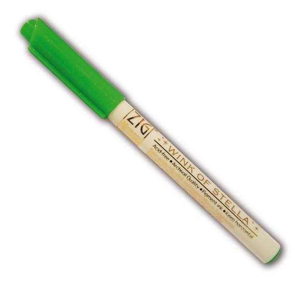 Marqueur à paillettes - Vert - Photo n°1