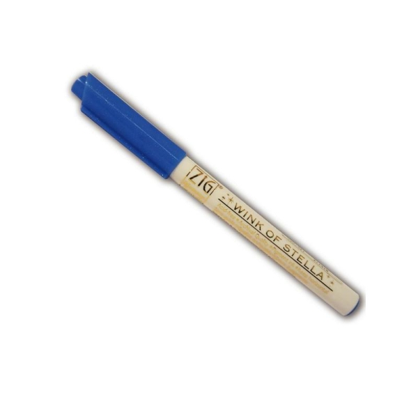 Marqueur à paillettes - Bleu - Photo n°1