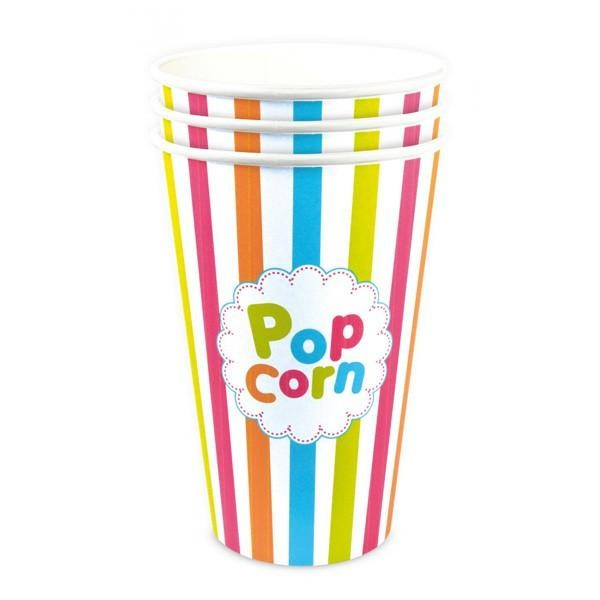3 Gobelets Pop-Corn 45 cl - Photo n°1