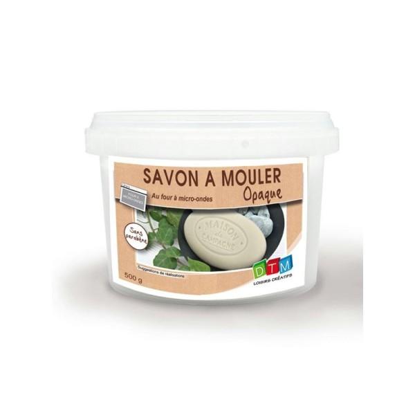 Bloc savon à mouler 500 g - opaque - Photo n°1