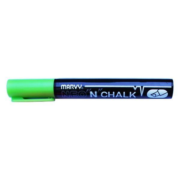 Marqueur-craie 6 mm - Vert - Photo n°1