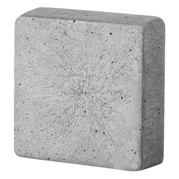 Moule carré pour béton créatif 8,5 x 8,5 cm - Photo n°1