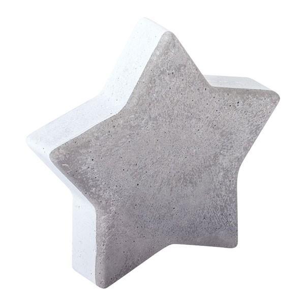 Moule étoile pour béton créatif 6 cm - Photo n°1