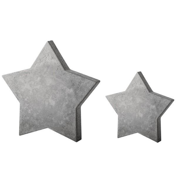 Moule étoile pour béton créatif 11 cm - Photo n°1