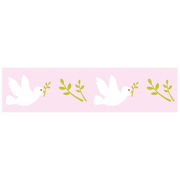 Washi Tape bleu clair - colombes - Photo n°1