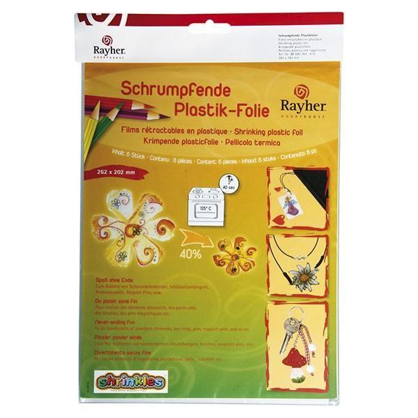 Plastique fou - 5 films rétractables - effet givré - Photo n°1