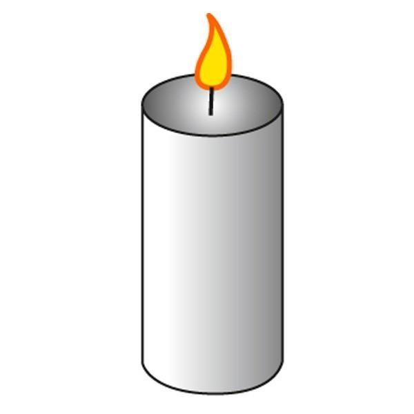 Moule à bougie cylindre Ø 5 cm - Photo n°2