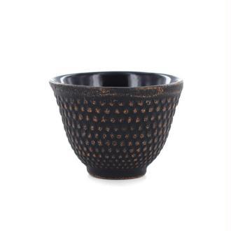 Tasse en fonte de Chine - noir & violet