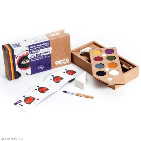 Kit de maquillage bio Monde des horreurs - 8 couleurs - Photo n°2